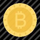 bitcoin, currency, money, saving icon