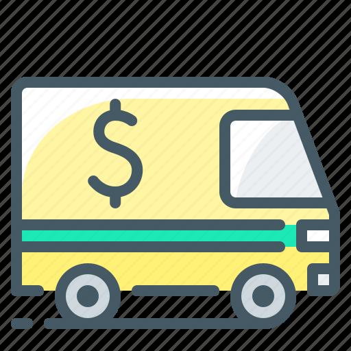 auto, car, collection, encashment, service icon