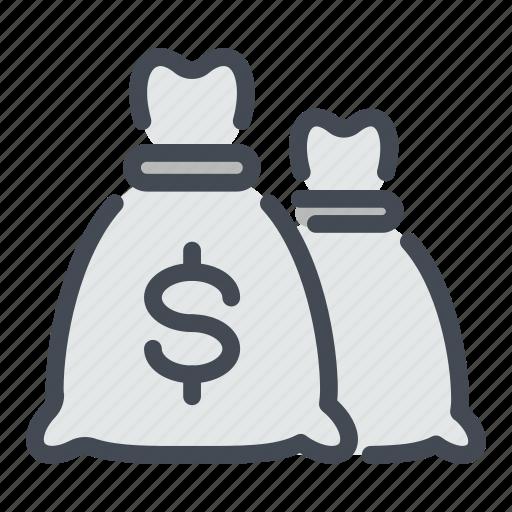 bag, bank, banking, cash, dollar, money, savings icon