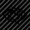 chart, eye, graph, statistics, view icon