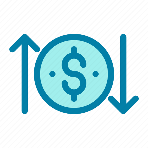 Banking, bank, finance, coin, transfer, money icon - Download on Iconfinder