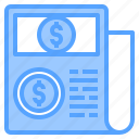 accounting, bank, bill, business, corporate, finance, payment icon