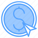 accounting, bank, business, corporate, dollar, finance, payment icon