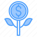 accounting, bank, business, corporate, finance, growth, payment icon