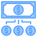 accounting, bank, business, change, corporate, finance, payment icon