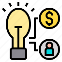 accounting, bank, business, corporate, finance, idea, payment icon