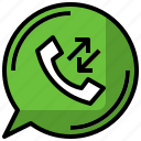 calls, conversation, phone, technology, telephone icon