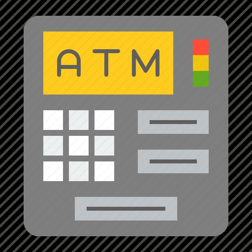 Atm, banking, cash, cash machine, finance, money icon - Download on Iconfinder