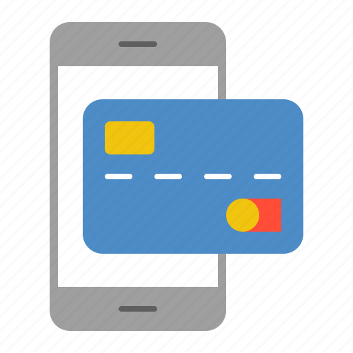 banking, business, credit card, finance, mobile banking, money, payment card icon