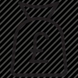bag, cash, earning, money icon