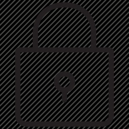 lock, padlock, private, security icon