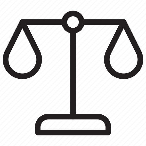 Justice, law, scale, weight icon - Download on Iconfinder