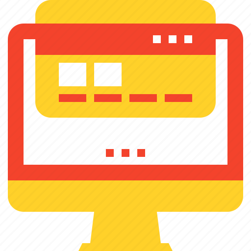 bank, banking, card, computer, credit, internet, online icon
