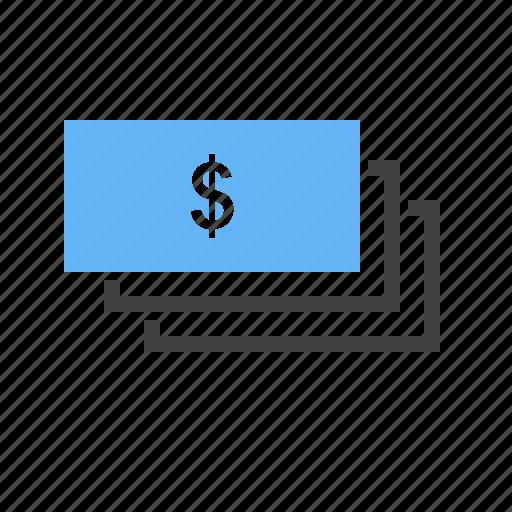 bill, cash, dollar, loan, money, pay, wage icon