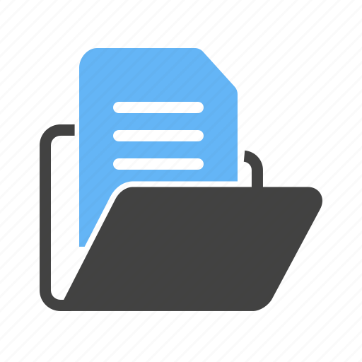 archives, business, directory, document, email, file, folder icon