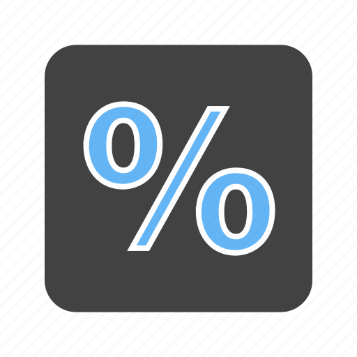 business, finance, financial, fraction, part, percentage, portion icon