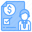 bank, business, contract, finance, money, online, technology icon