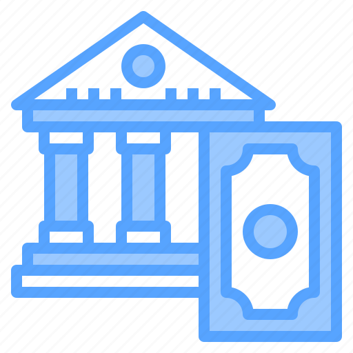 Bank, business, finance, money, office, online, technology icon - Download on Iconfinder