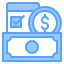 bank, business, finance, money, online, payment, technology icon