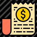 bank, bill, business, finance, money, online, technology icon