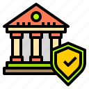 bank, business, finance, money, online, security, technology icon
