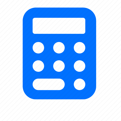 banking, calculate, calculator, counting, math, money icon