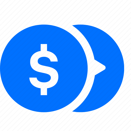 banking, coins, currency, dollar, money icon