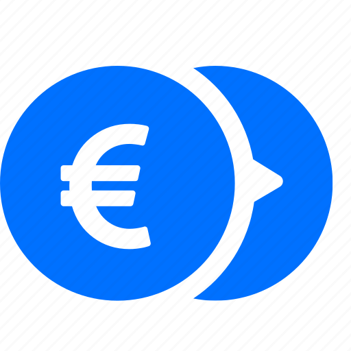 banking, coins, currency, euro, money icon
