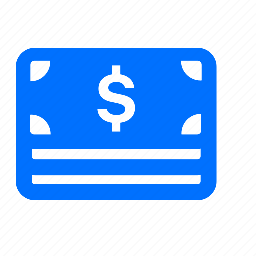 banking, bills, cash, currency, dollar, money, notes icon