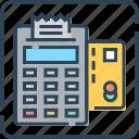 atm card, banking, card machine, invoice machine, receipt, swap machine, terminal