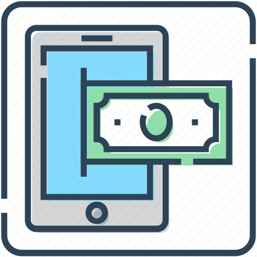 Finance, mobile, money, online banking, online payment, transaction icon - Download on Iconfinder