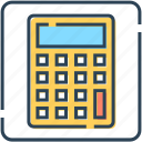 calculation, calculator, counting, finance, math, numbers icon