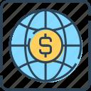 currency, dollar, international currency, money, world