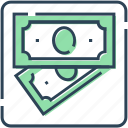 banknote, currency, dollar, finance, money, payment