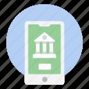 banking app, ebanking, internet banking, mobile banking, online banking icon