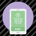ecommerce, mcommerce, mobile shopping, online shopping, shopping app icon