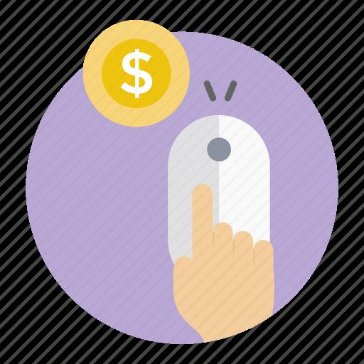 internet marketing, money making, online money, pay per click, ppc icon