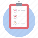 agenda, approved document, checklist, contract, task list vector, todo list icon