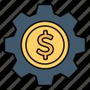 configure, setting, dollor, money