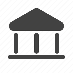 bank, banking, building, funds, gurantee, institution, money icon