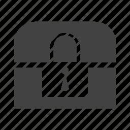 bank, box, business, lock, locker, safe, security icon