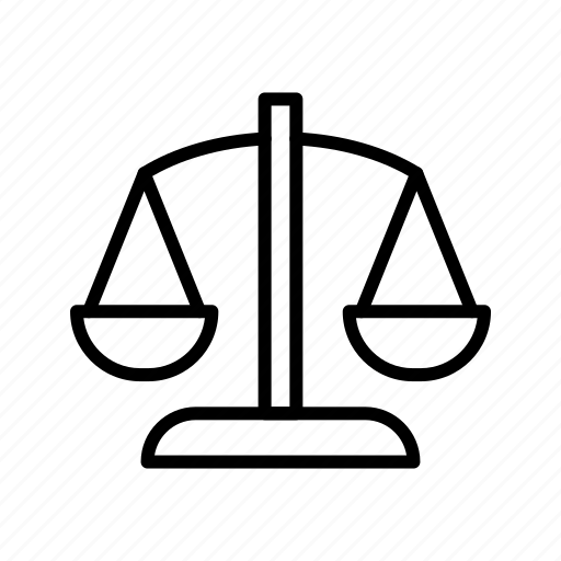 balance, banking, justice, scale, scales icon