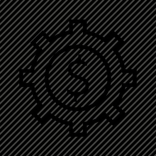 cog, options, wheel icon