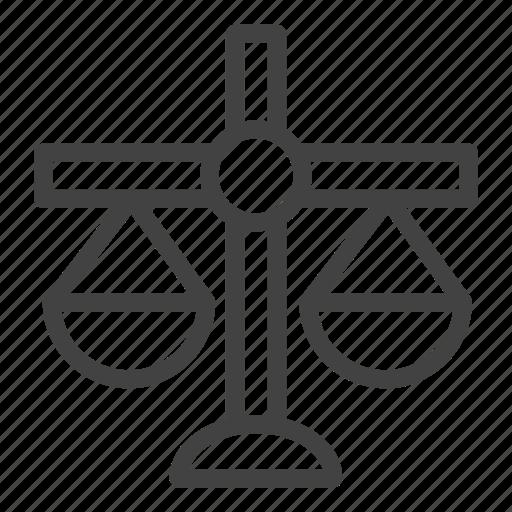 balance, banking, scale icon