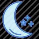 astronomy, moon, night, stars
