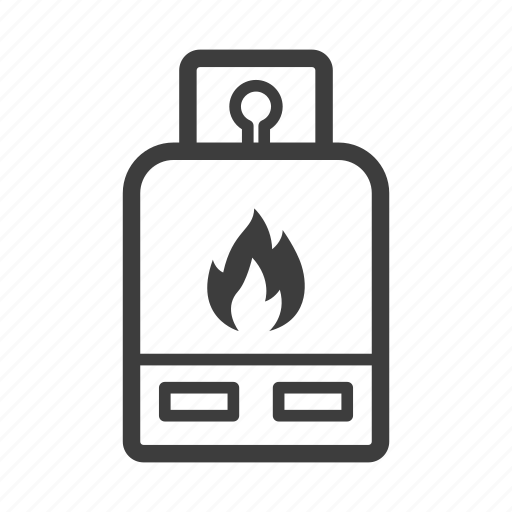 container, cylinder, gas, tank icon