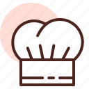 chef, food, grill, hat, restaurant