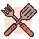 food, grill, restaurant, tools icon