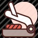 food, grill, panini, restaurant icon