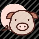 food, grill, pig, restaurant